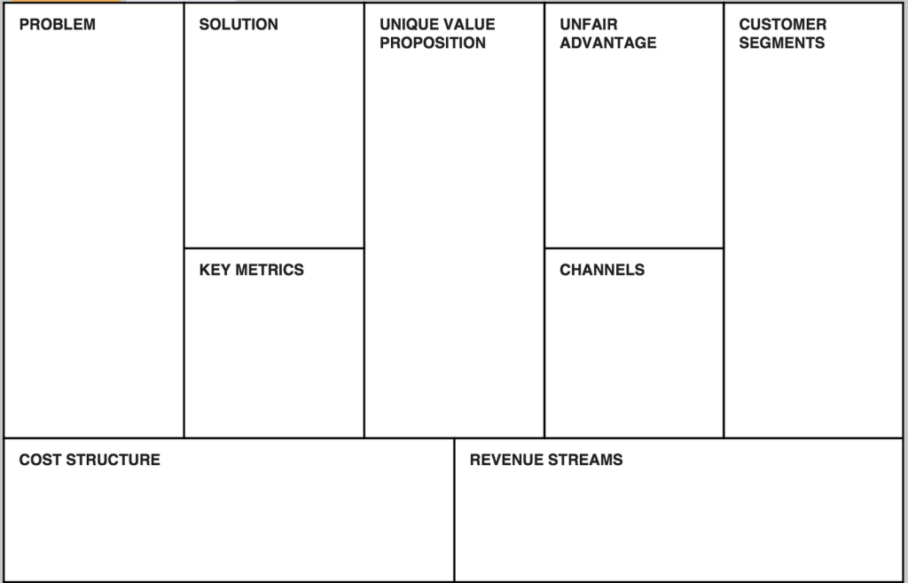 Build business model Template